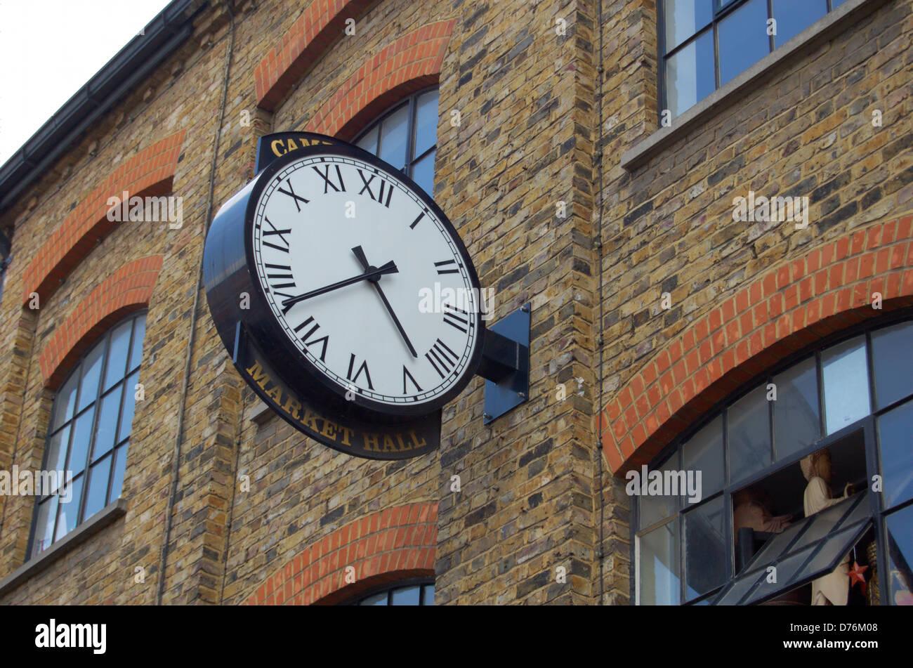Lock wall in london