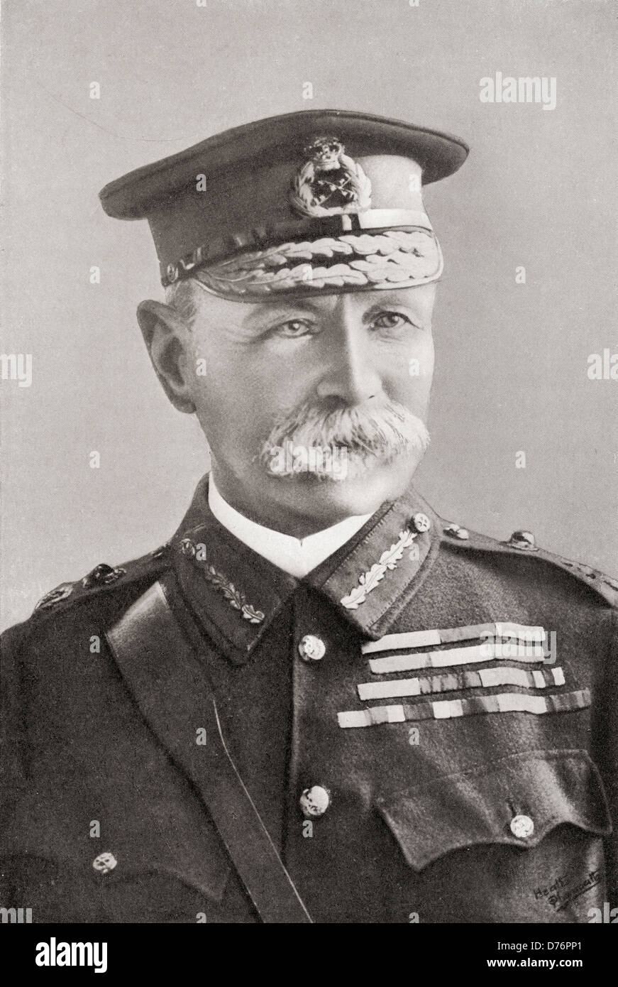 Field Marshal Frederick Sleigh Roberts, 1st Earl Roberts, 1832 –1914. British soldier and Commander-in-Chief of - Stock Image
