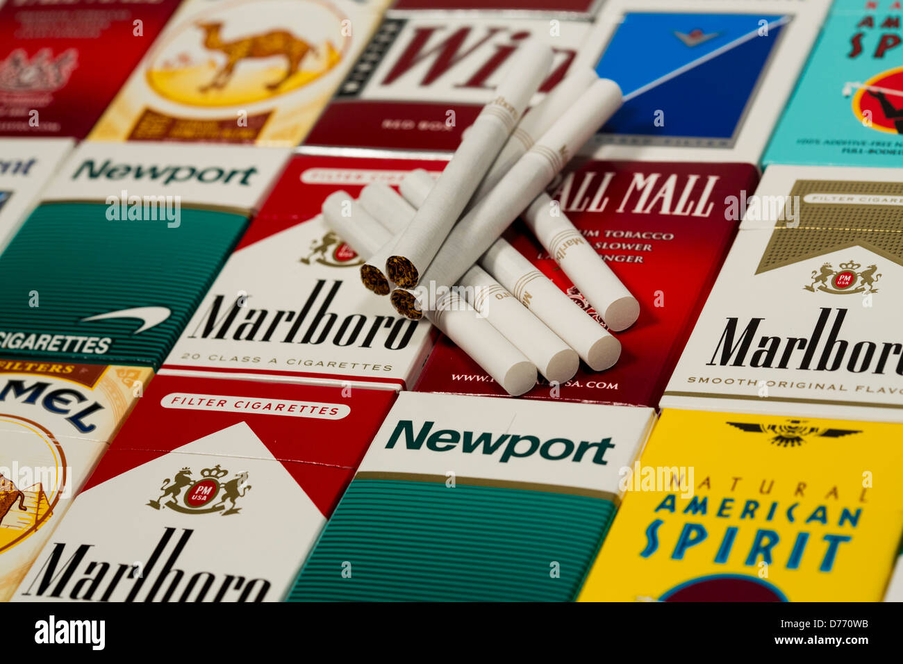 Cigarettes Marlboro from UK airport