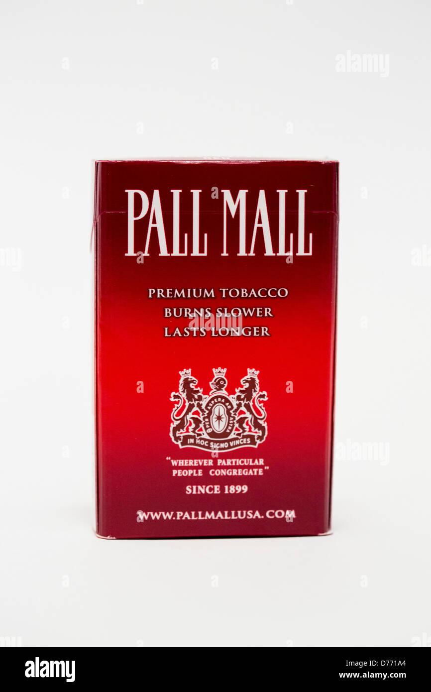 Pall Mall Cigarettes Stock Photos & Pall Mall Cigarettes ... Pall Mall Black