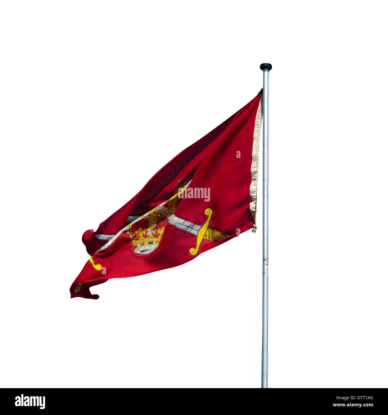 Flag Of The British Army Non Ceremonial - Stock Image