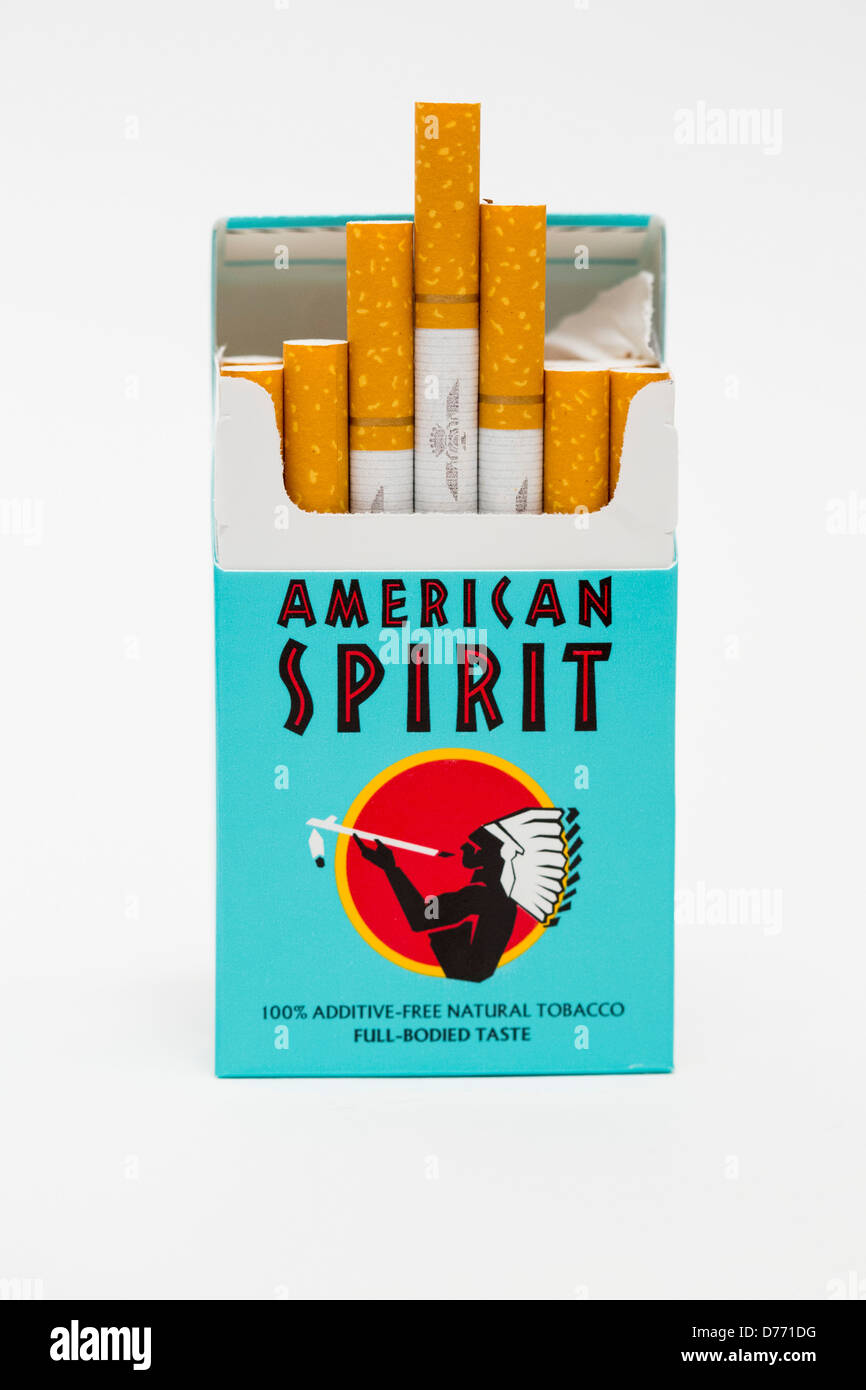 a pack of american spirit cigarettes stock photo 56088524 alamy. Black Bedroom Furniture Sets. Home Design Ideas