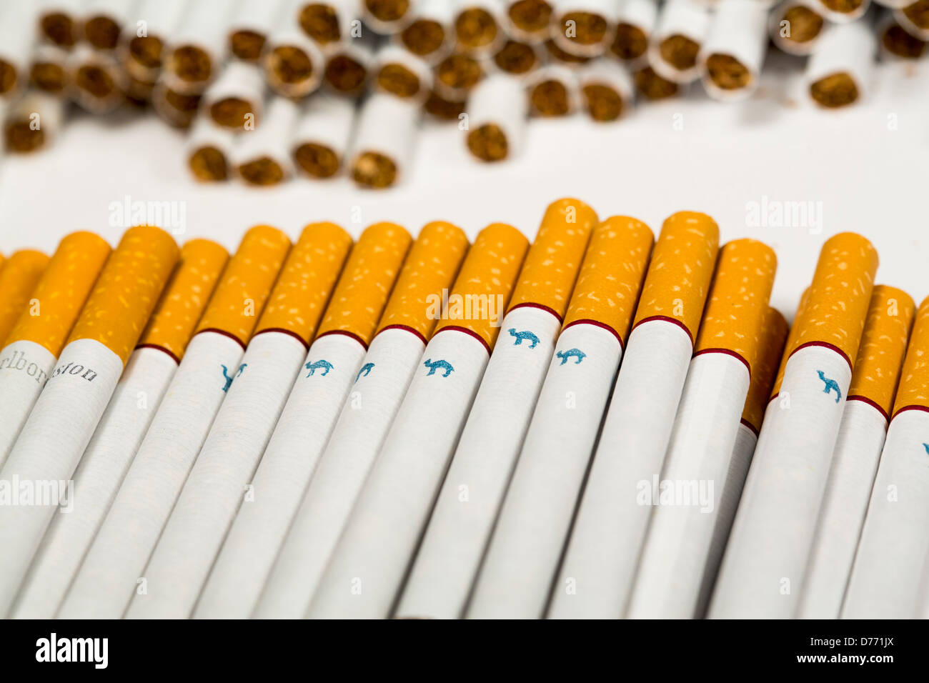 Cigarettes Marlboro without tobacco