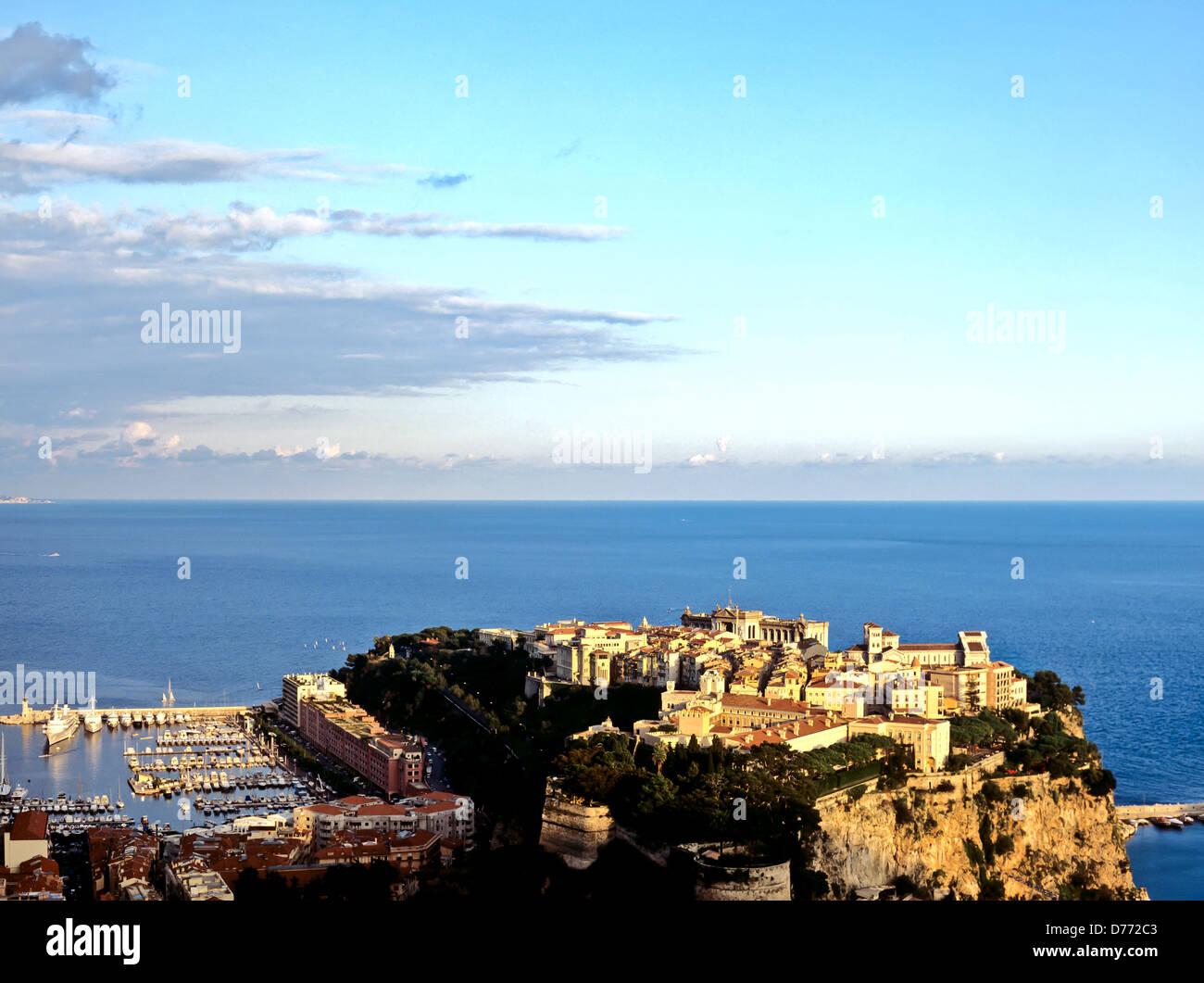 8675. Principality of Monaco, Europe - Stock Image
