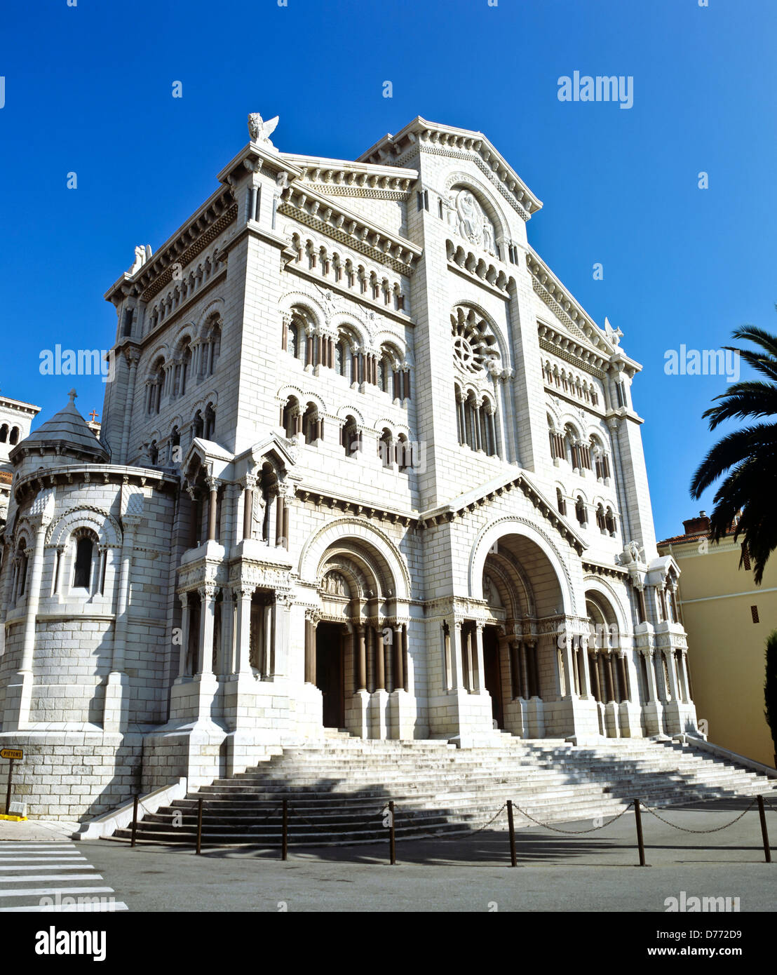 8676. The Cathedral, Principality of Monaco, Europe - Stock Image