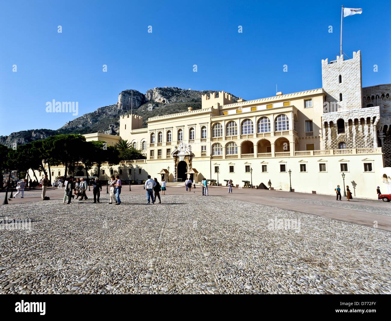 8678. Royal Palace, Principality of Monaco, Europe - Stock Image