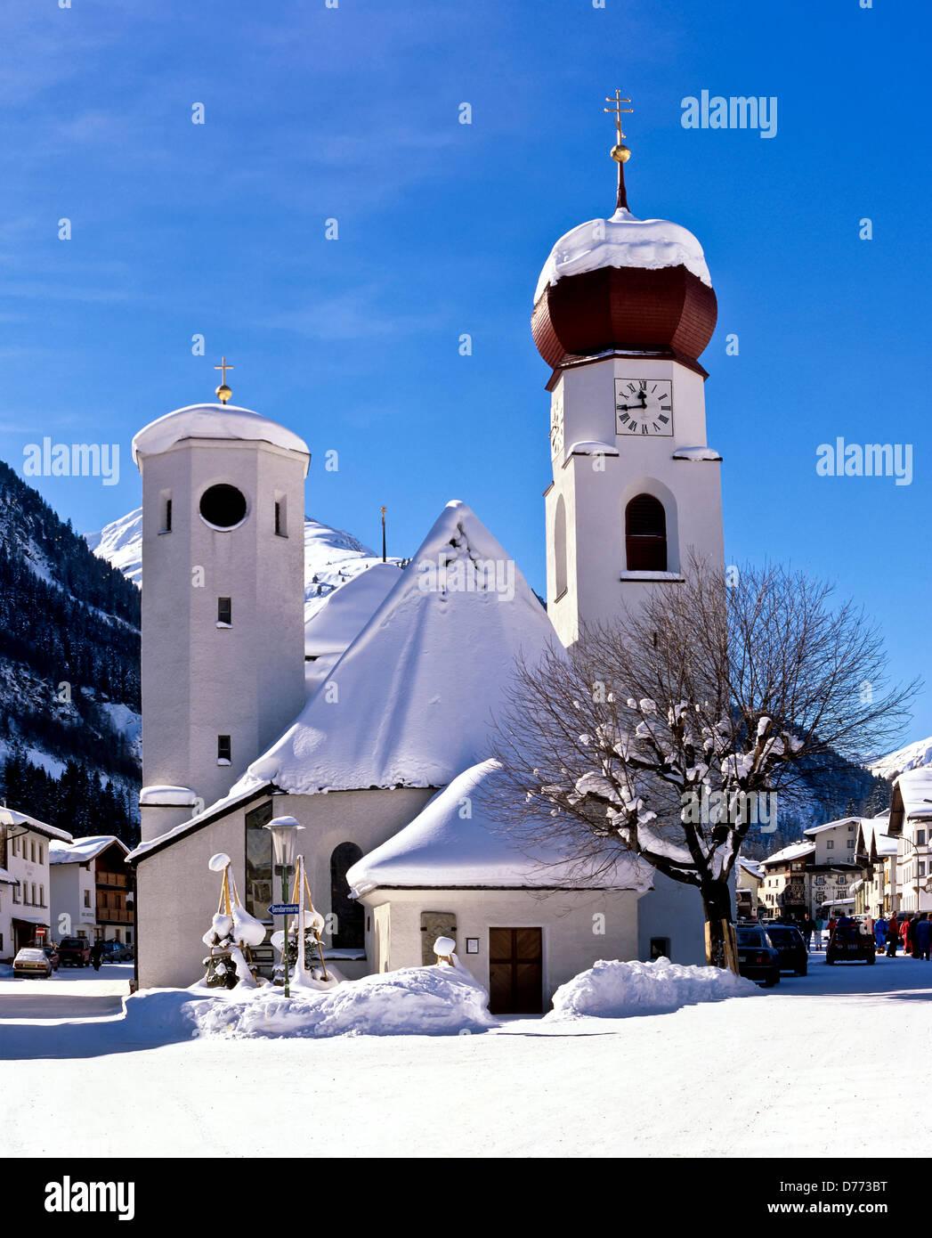 8698. St Anton, Tirol, Austria, Europe - Stock Image