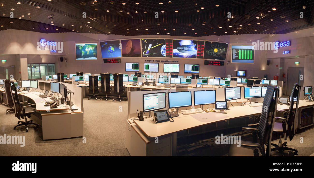 European Space Agency: European Space Operations Centre - Stock Image