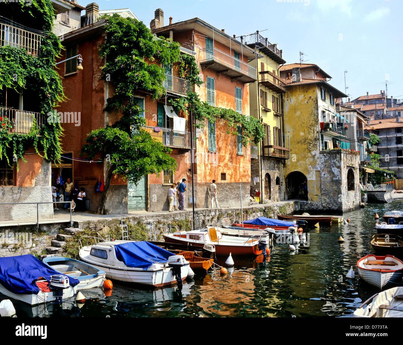8707. Varenna, Lake Como, Italy, Europe - Stock Image