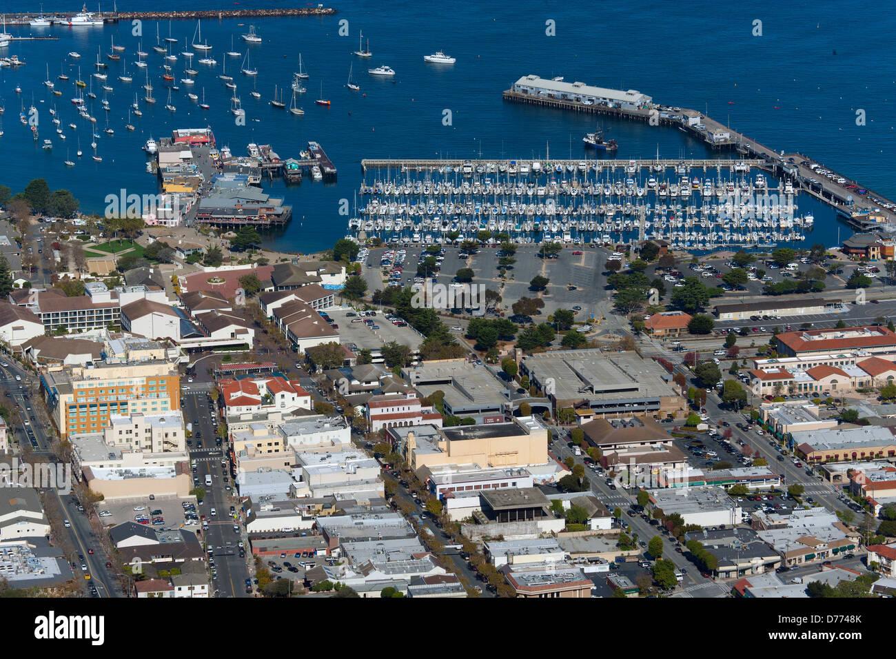 aerial photograph Monterey, California - Stock Image