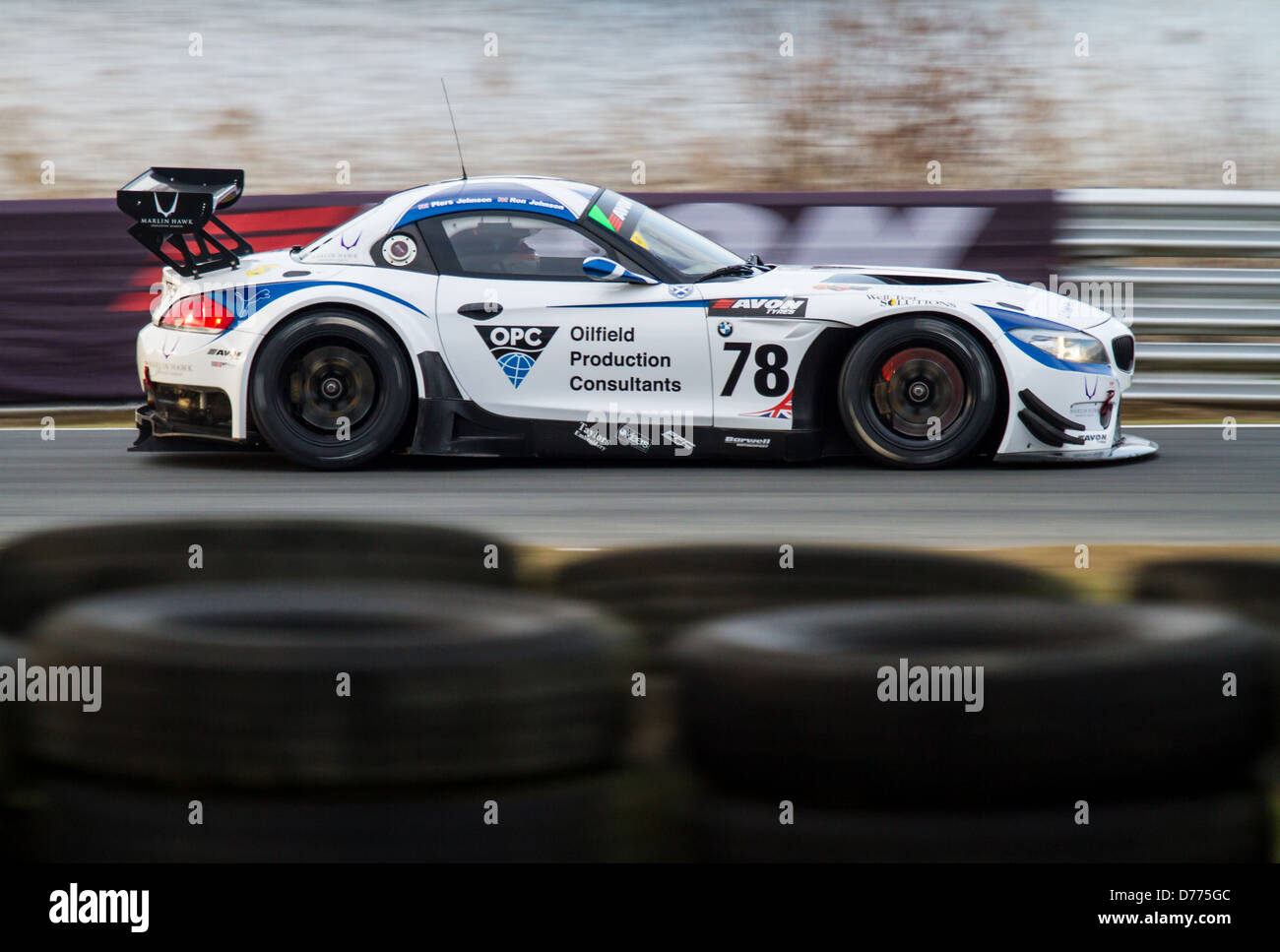 barwell motorsport bmw - Stock Image