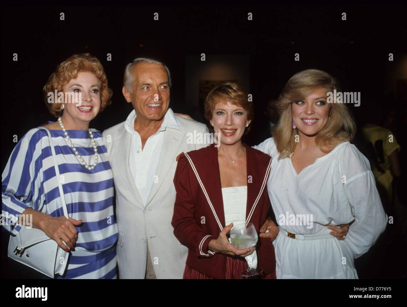 AUDREY MEADOWS with Ted Knight , Nancy Dussault and Lydia Cornell.N0681B.Supplied by   Photos, inc.(Credit Image: - Stock Image