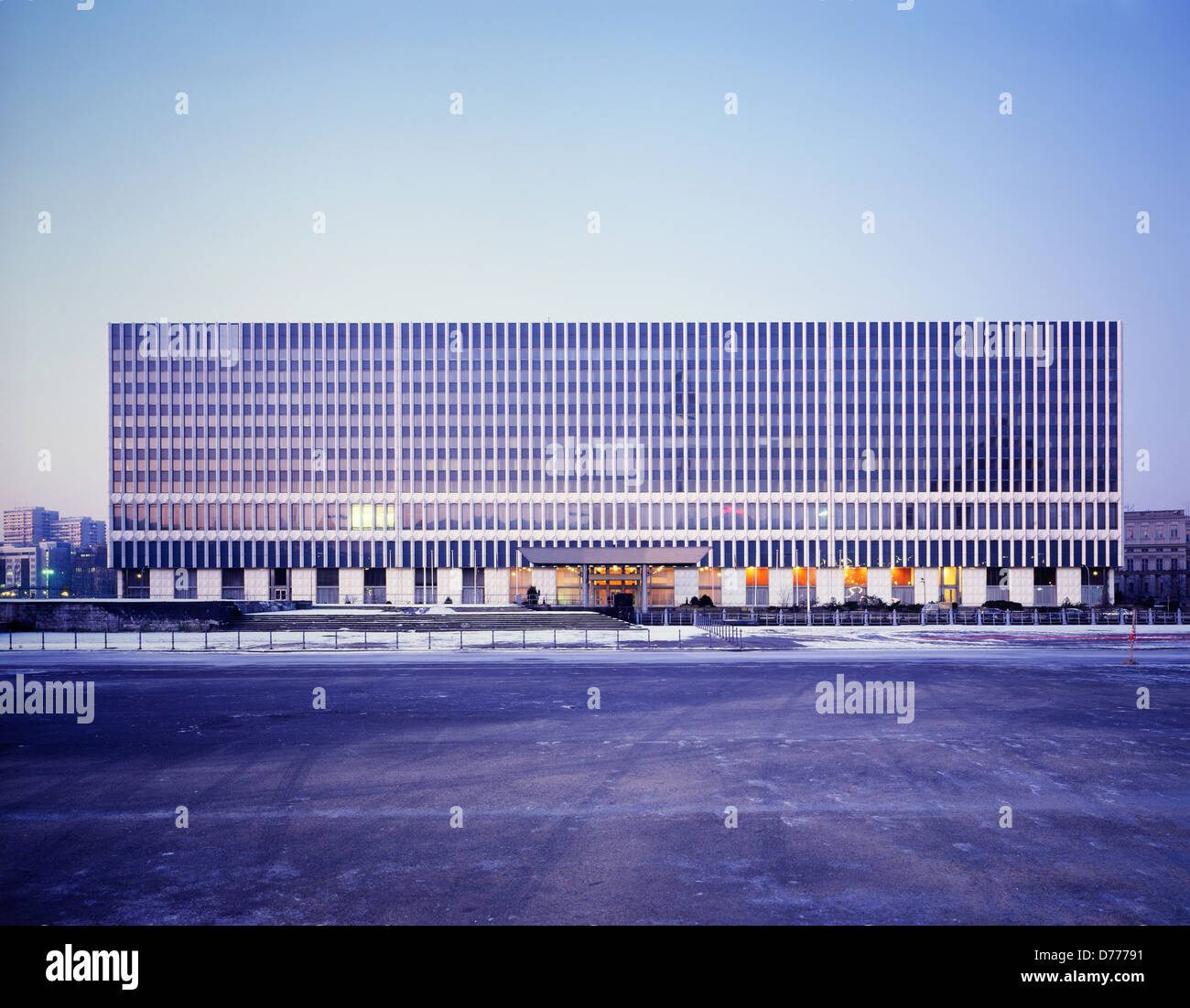 Berlin, Germany, the Ministry of Foreign Affairs of the former GDR Stock Photo