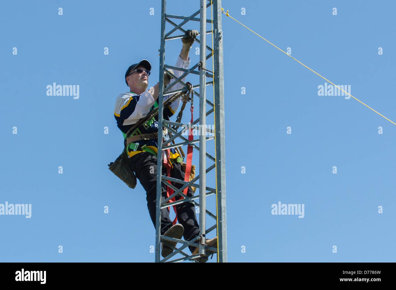 Amateur Radio Tower Stock Photos & Amateur Radio Tower Stock