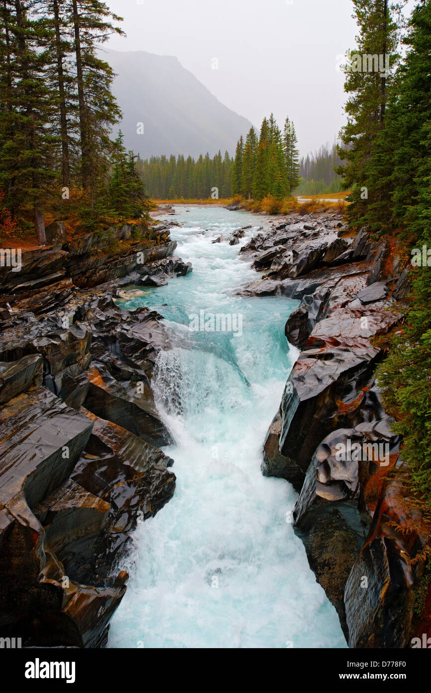Waterfall in Marble Canyon - Stock Image