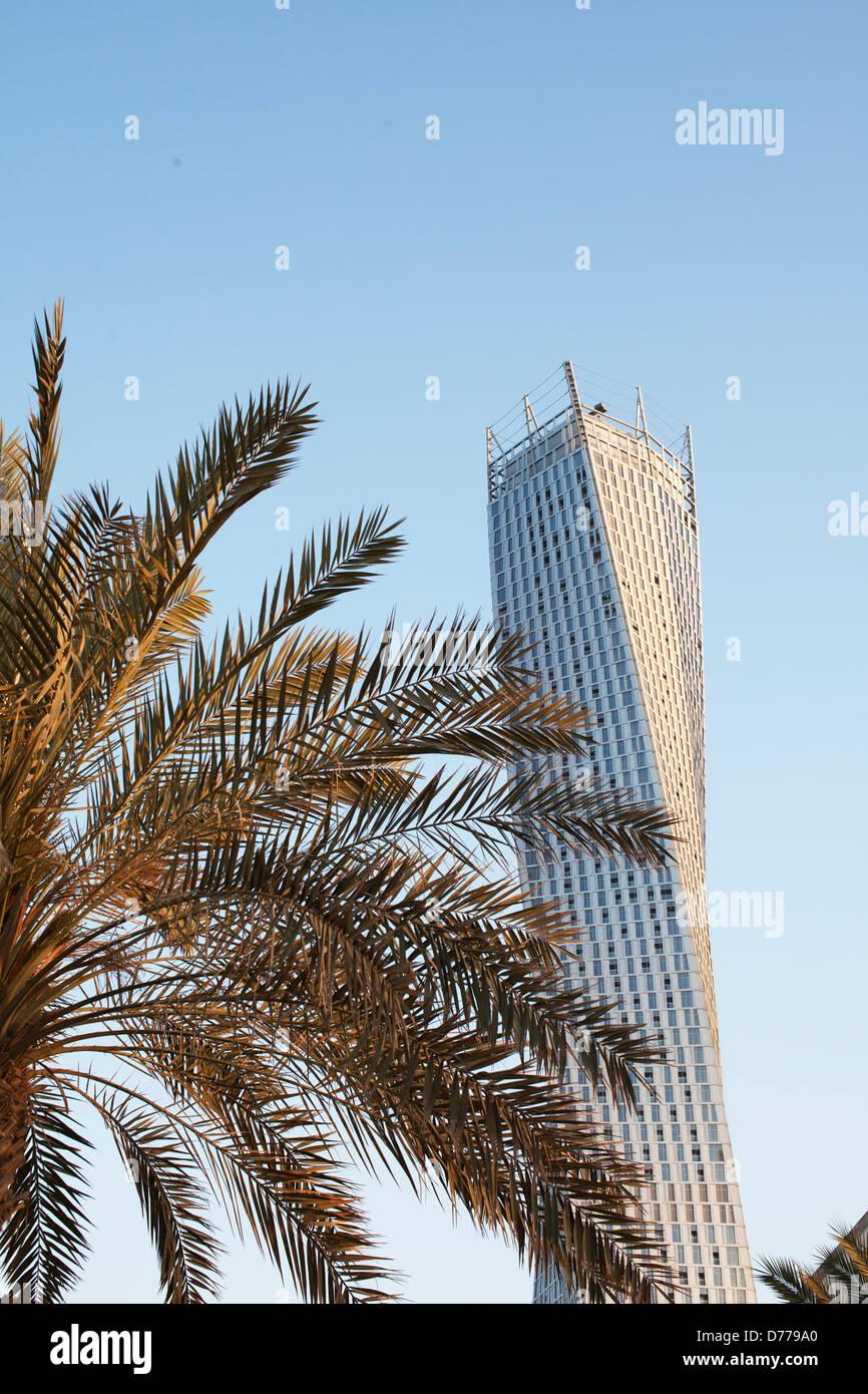 Cayan Tower, Dubai, UAE - Stock Image