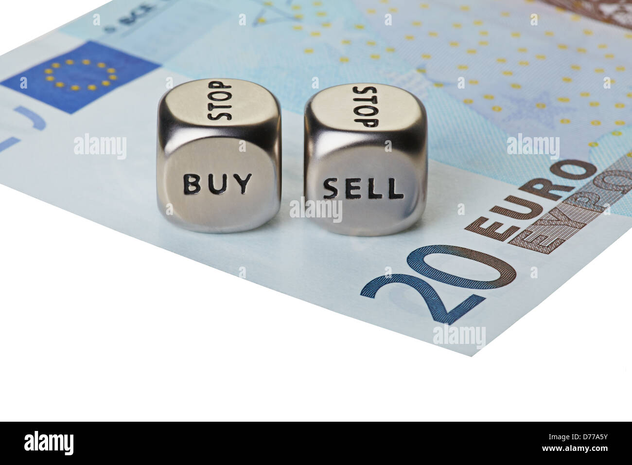 Buying and selling euros