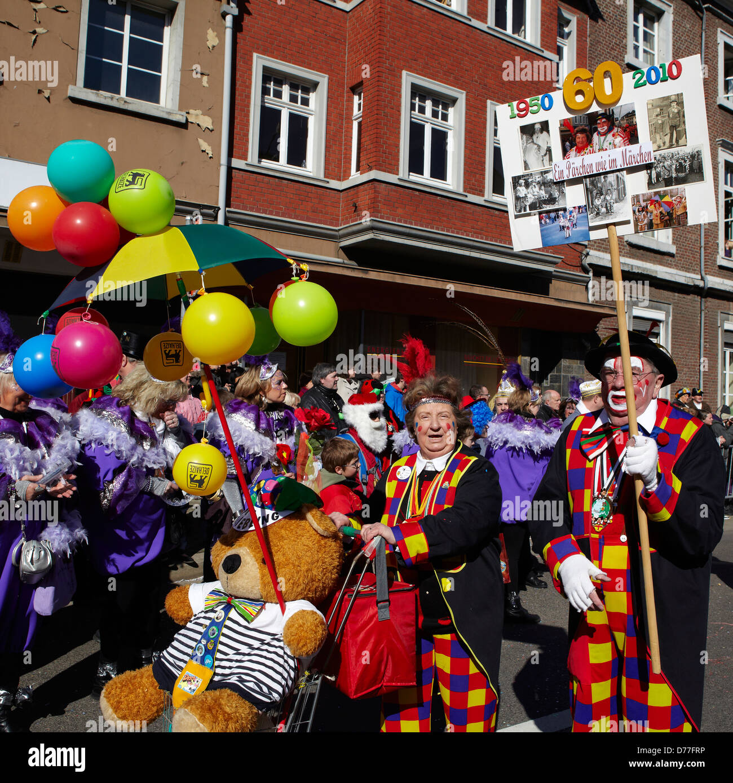 Belgium Walloonia Liege province Malmedy city carnival Stock Photo