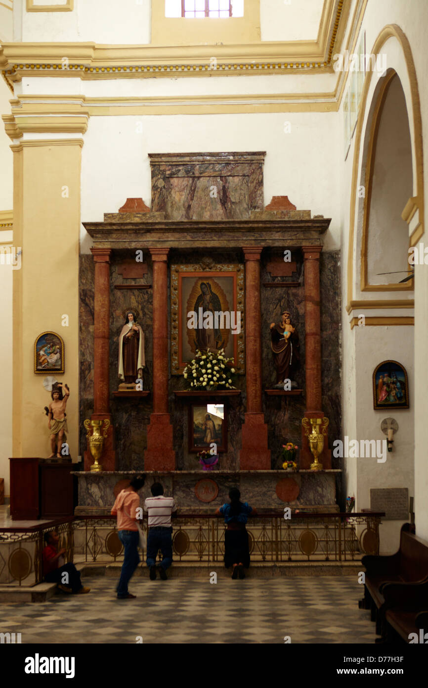 Mexico Veracruz city the catedral dedicated to Our Lady of the Assumption - Stock Image