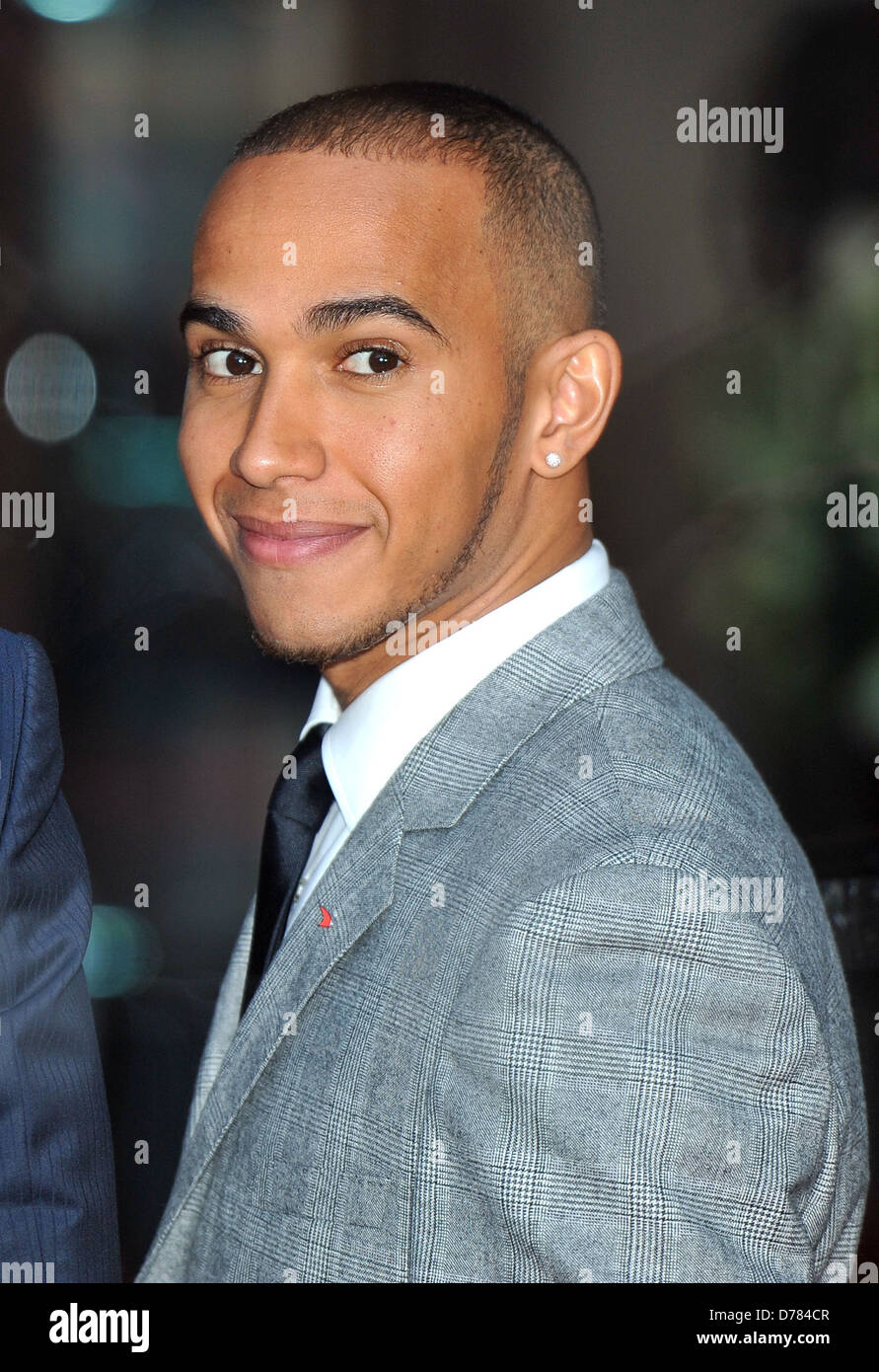 Lewis Hamilton Mbe Mclaren Automotive Showroom Opening At One Hyde