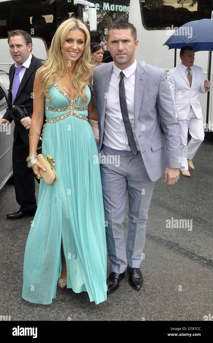 Robbie Keane, Claudine Palmer The Wedding of Pippa O\'Connor to TV ...