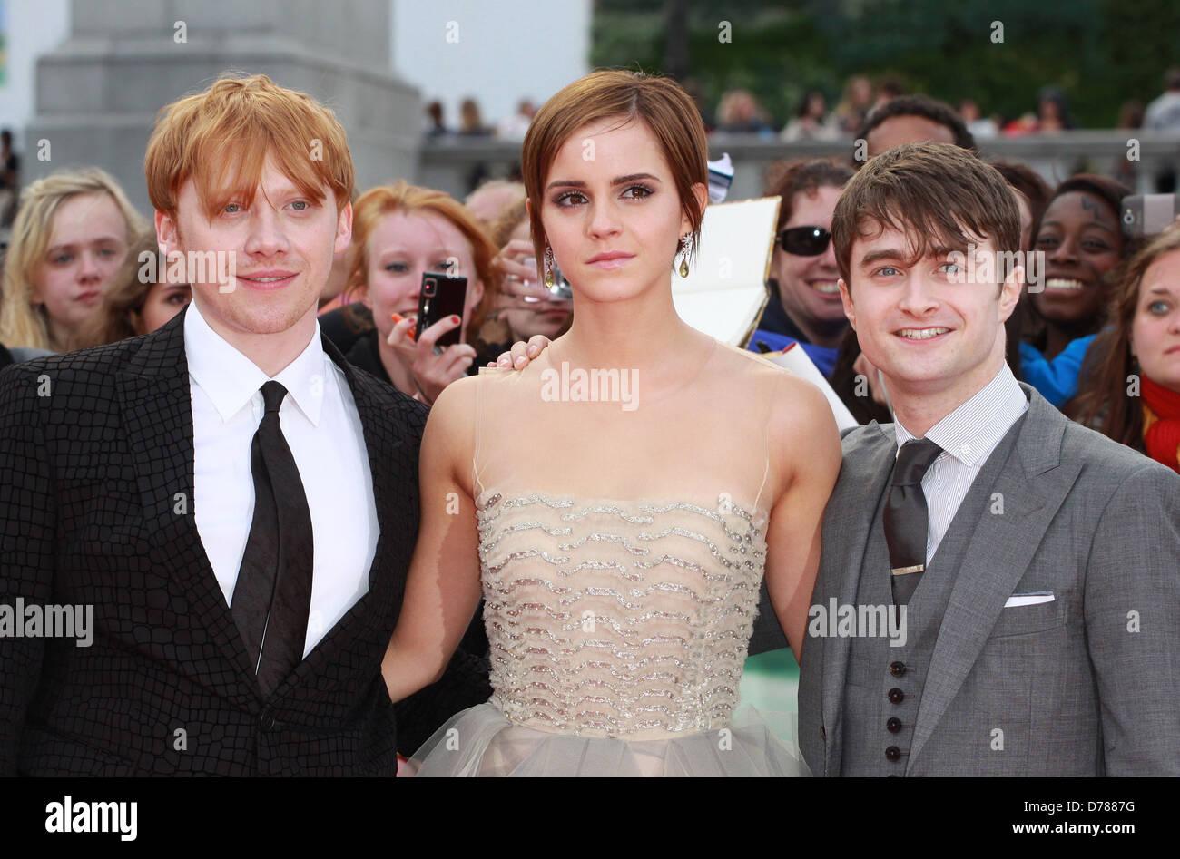 Daniel Radcliffe And Rupert Grint Daniel Radcliff...