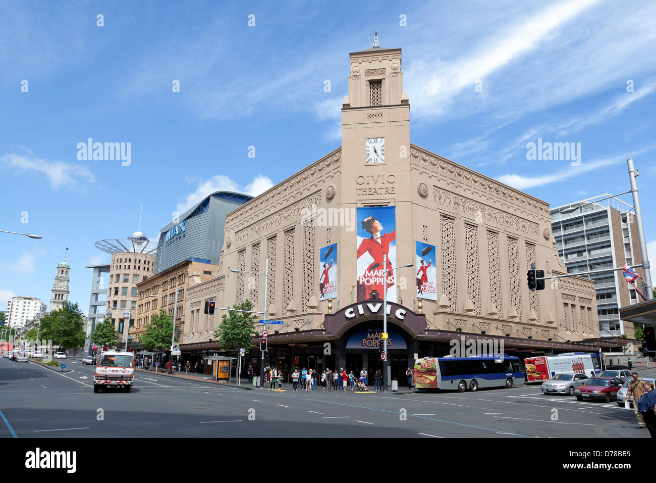 Civic Theatre in Auckland, New Zealand - Stock Image