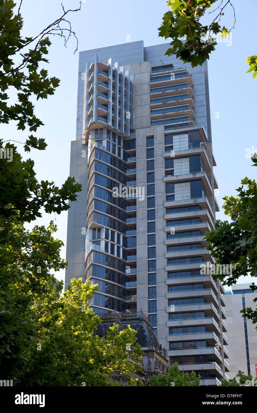 Modern architecture in Melbourne, Australia - Stock Image