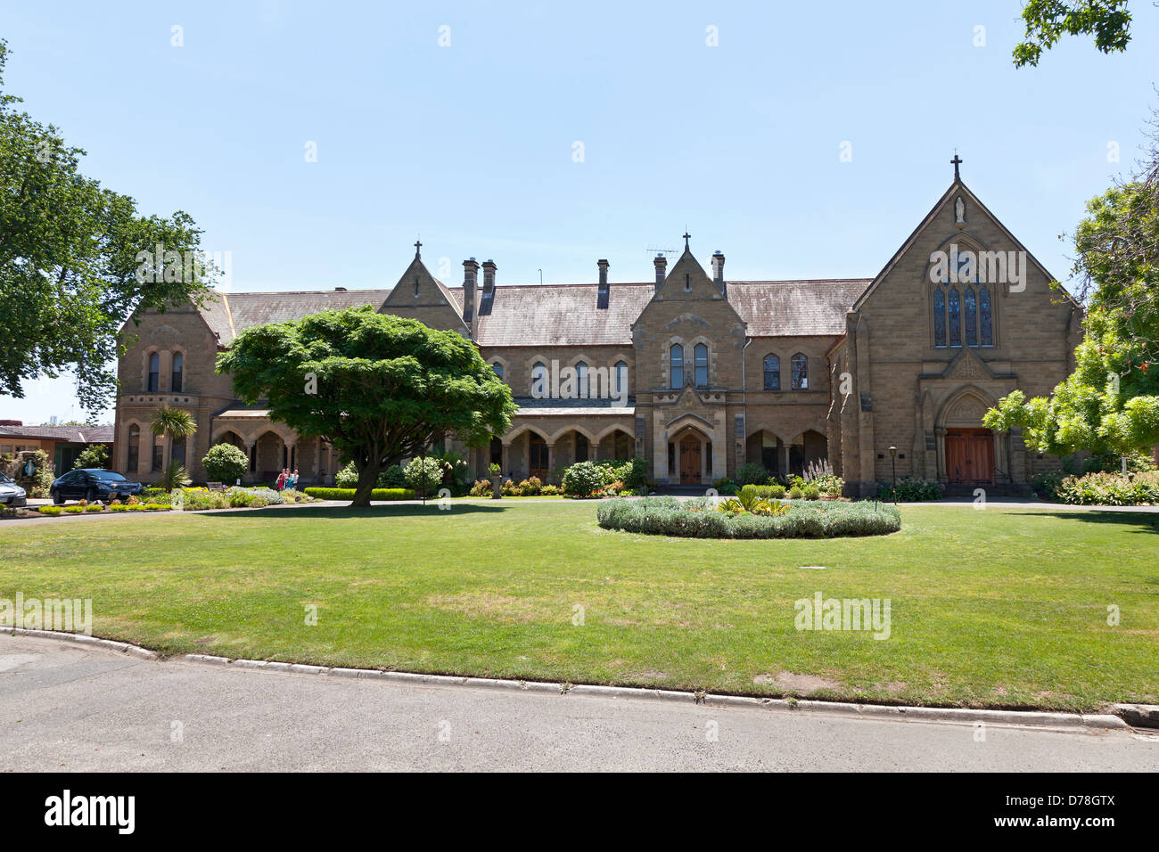 Windsor college in Melbourne, Australia - Stock Image