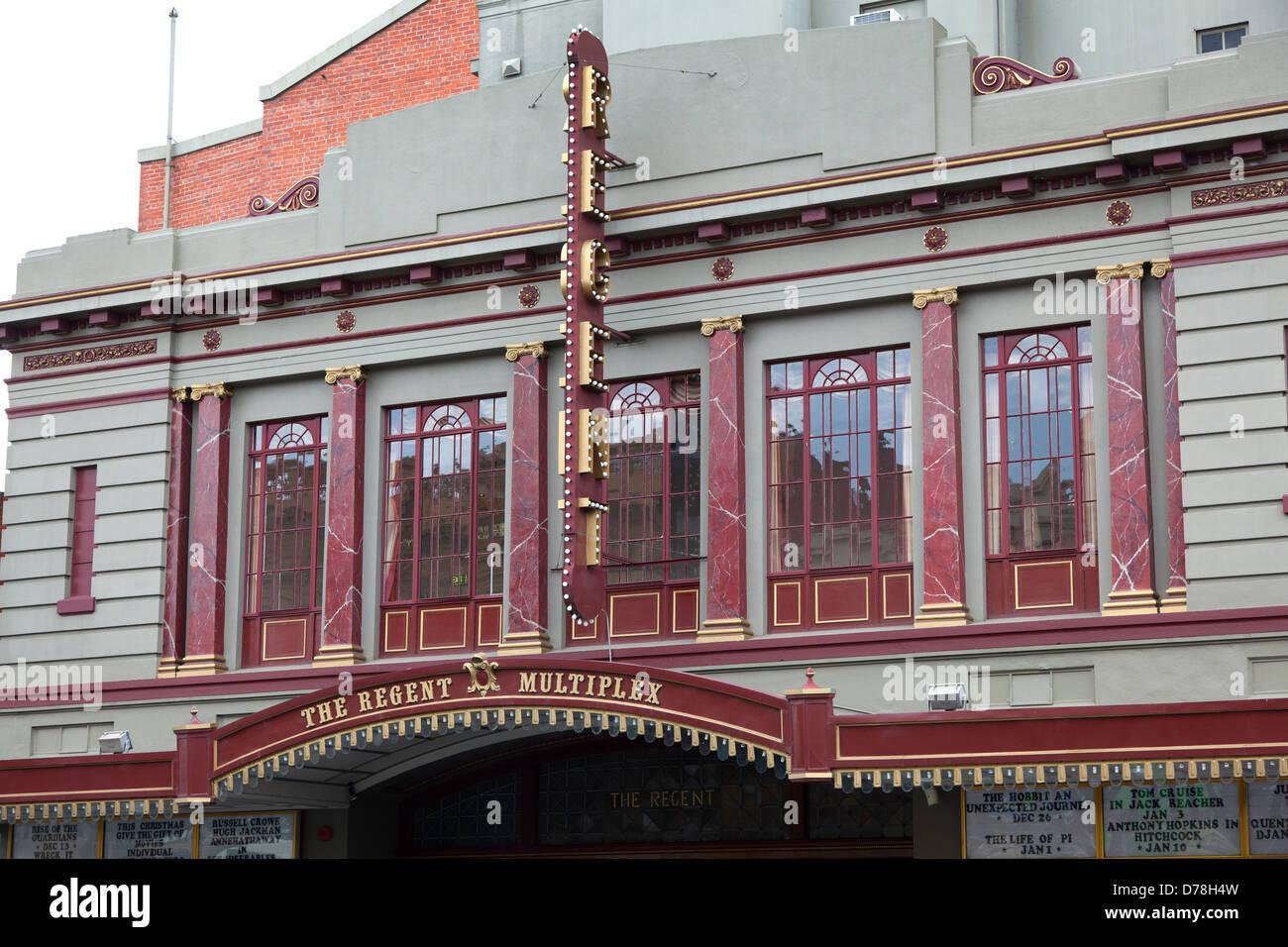 The Regent Multiplex cinema in Ballarat,Victoria, Australia - Stock Image