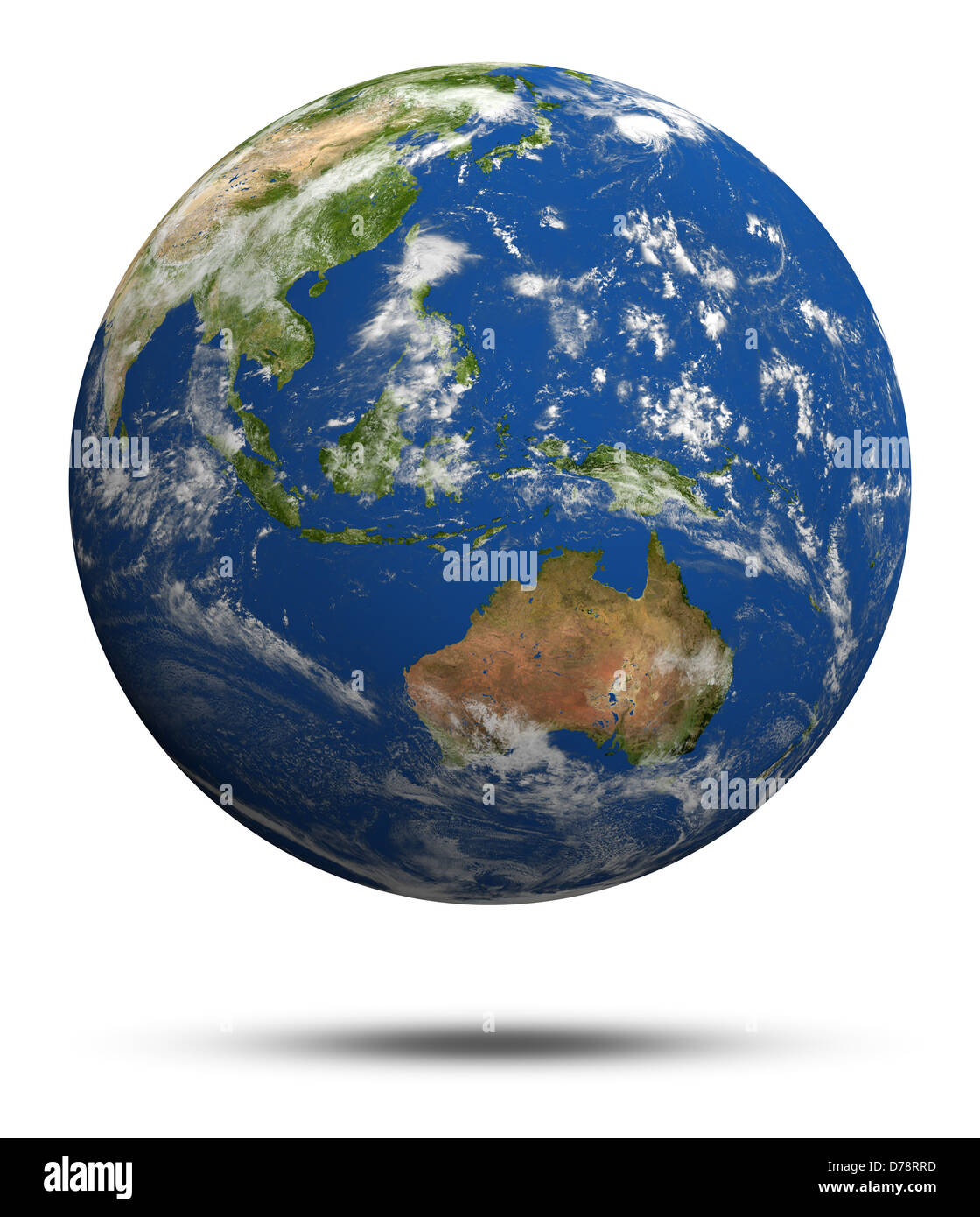 australia and oceania earth globe model maps courtesy of nasa
