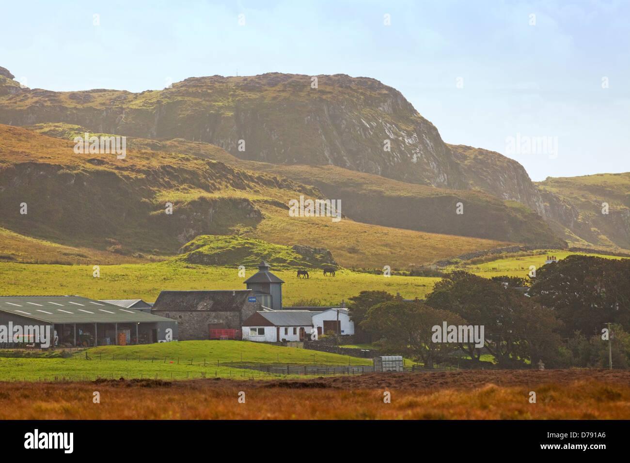 Kilchoman Distillery on the Isle of Islay - Stock Image