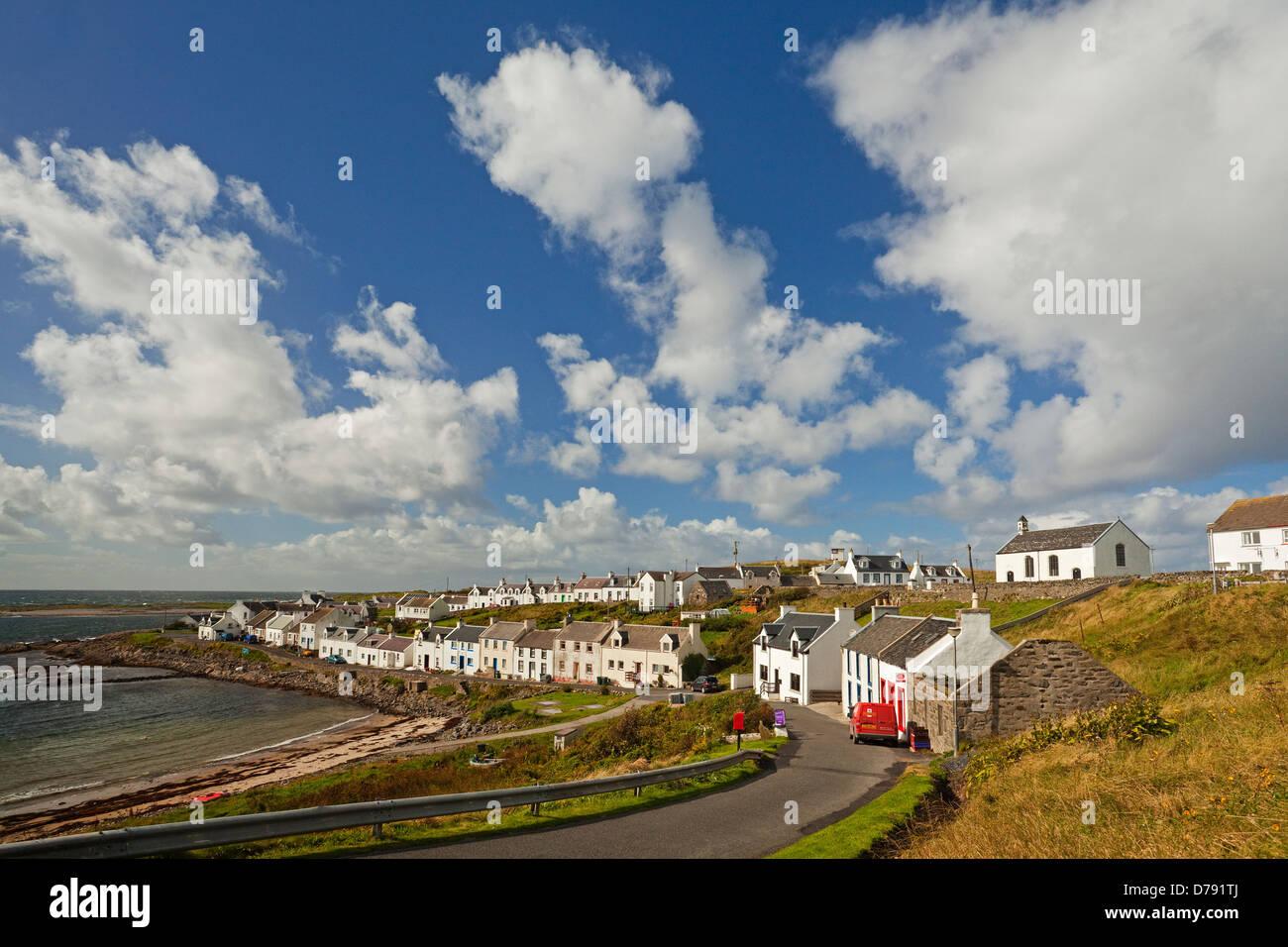 Portnahaven on the Isle of Islay - Stock Image