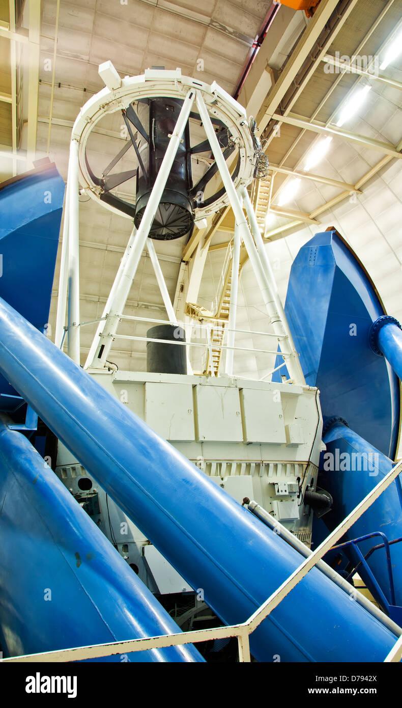 Mayall 4-Meter Telescope. Stock Photo