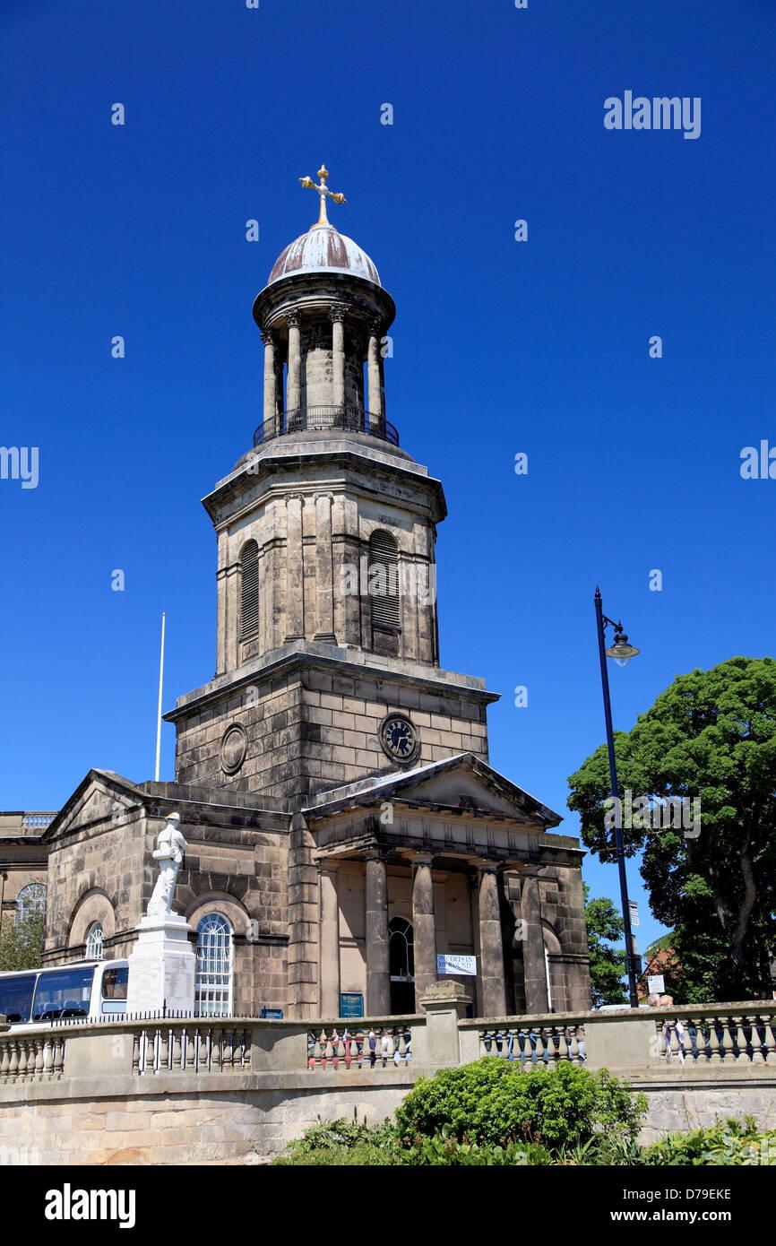 St. Chad's Church, Shrewsbury, England - Stock Image