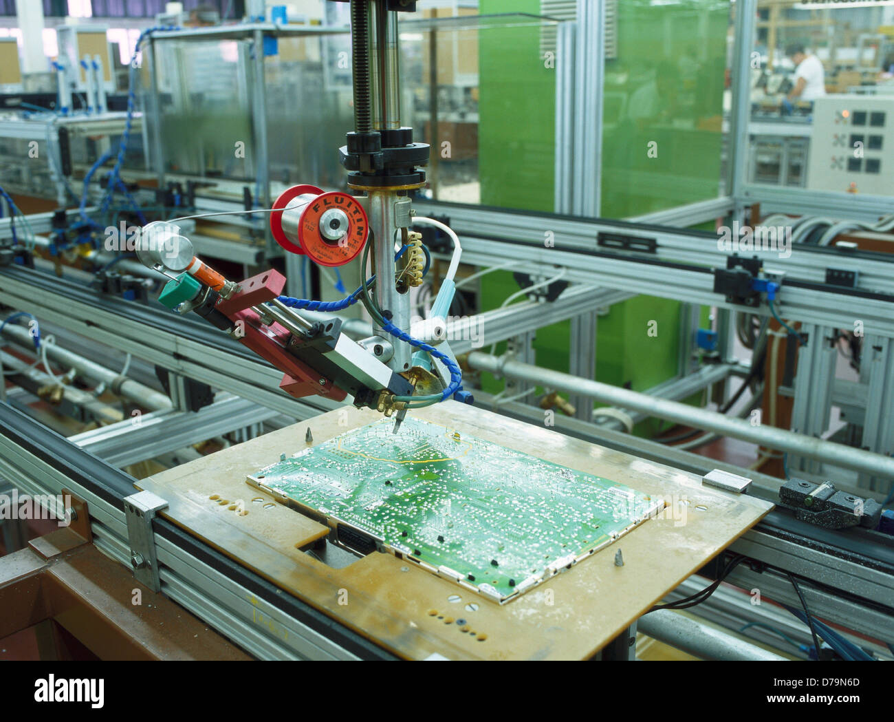 Circuit Board Manufacture Printed Assembly By Robot