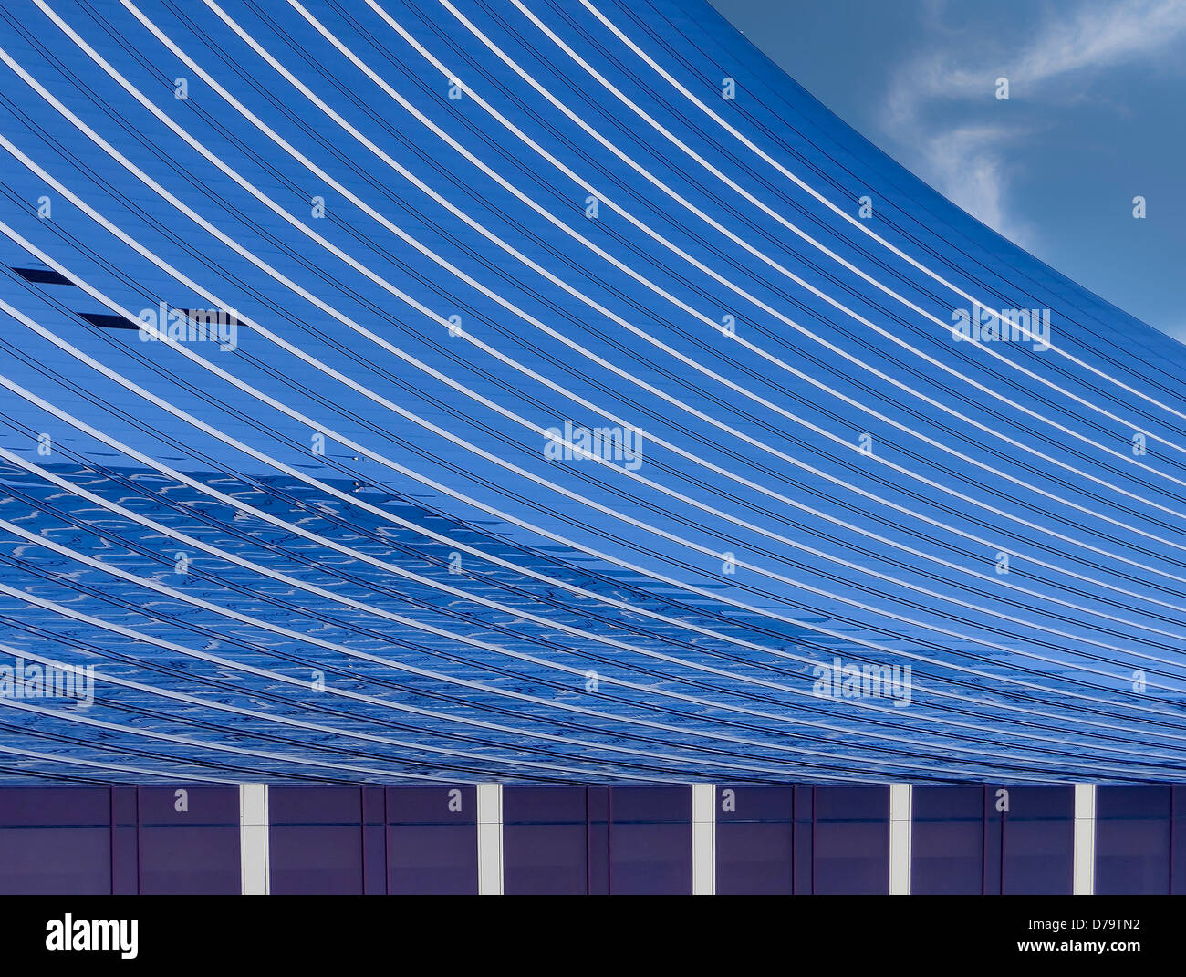 Architectural detail abstract background, - Stock Image