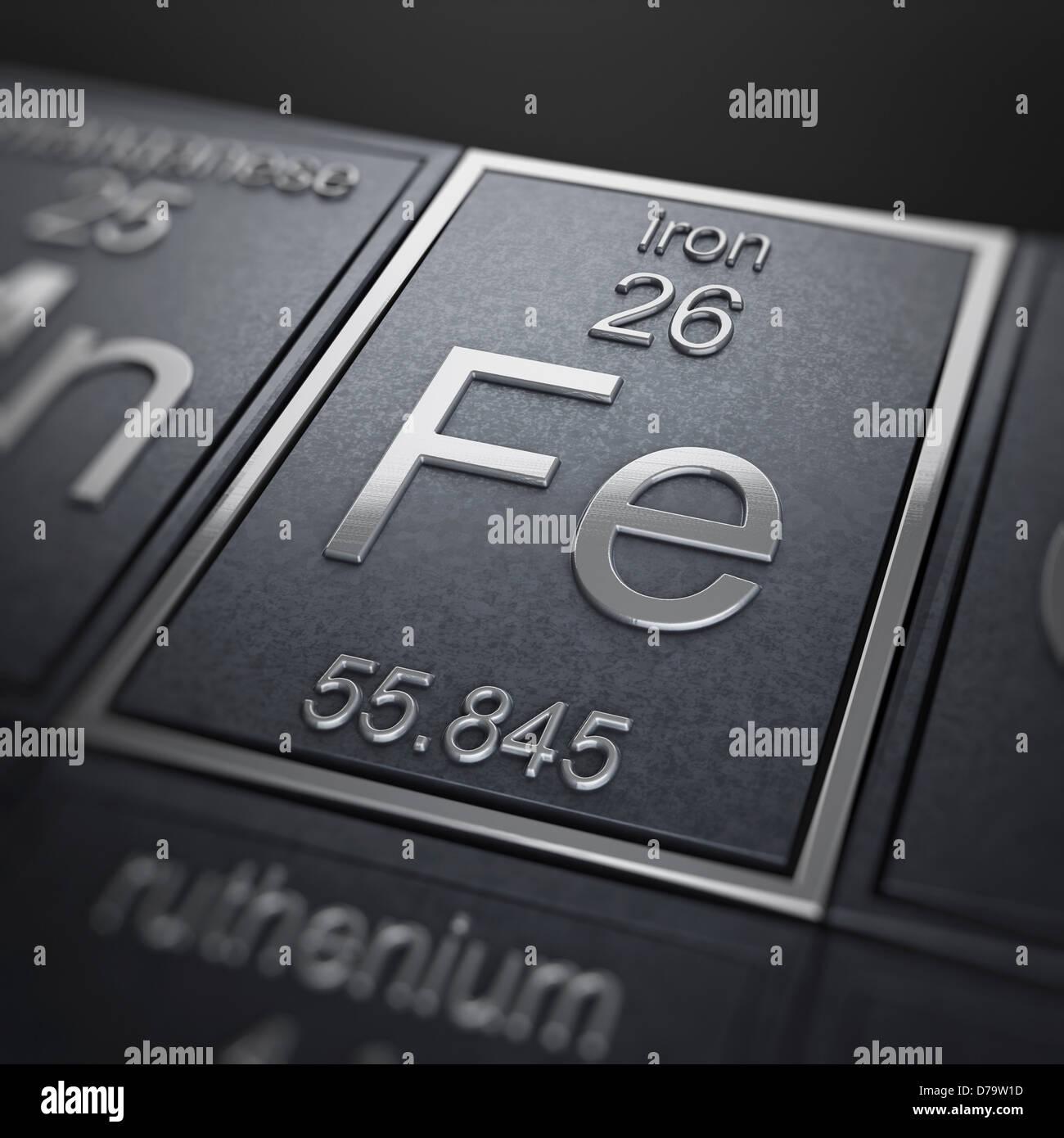 Iron Chemical Element Stock Photos Iron Chemical Element Stock