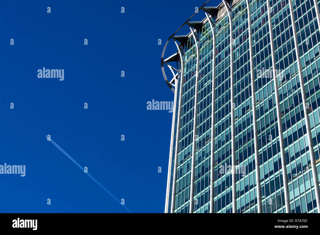 Citypoint, a High Rise Office Block in City of London - Stock Image