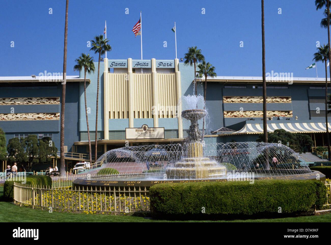 The Art Deco Santa Anita Park Opened In 1934 In Arcadia