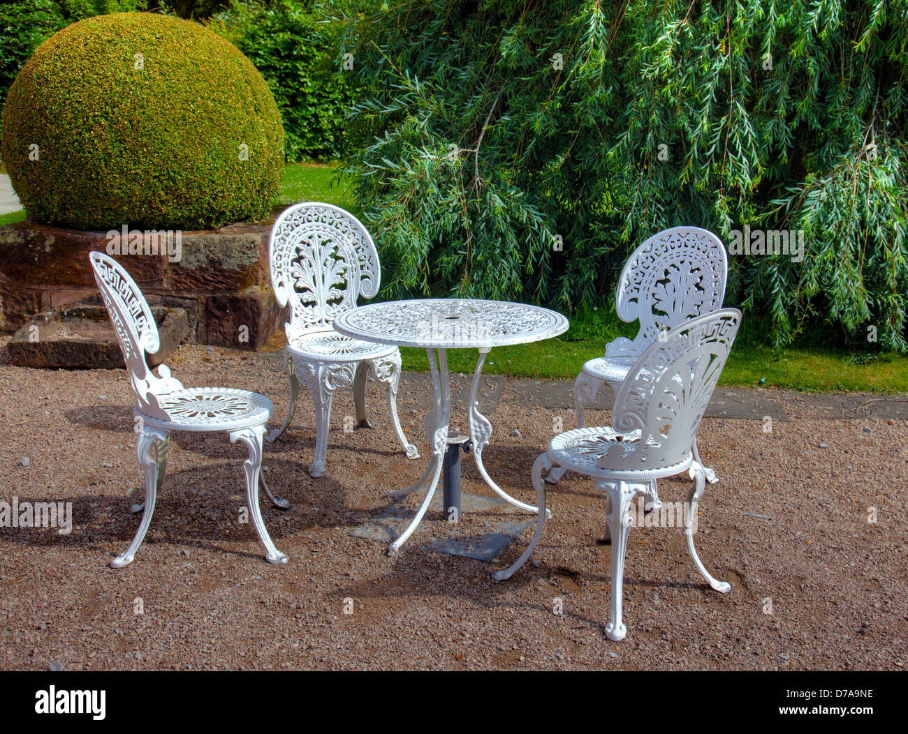 Awe Inspiring Wrought Iron Outdoor Furniture Stock Photos Wrought Iron Pdpeps Interior Chair Design Pdpepsorg