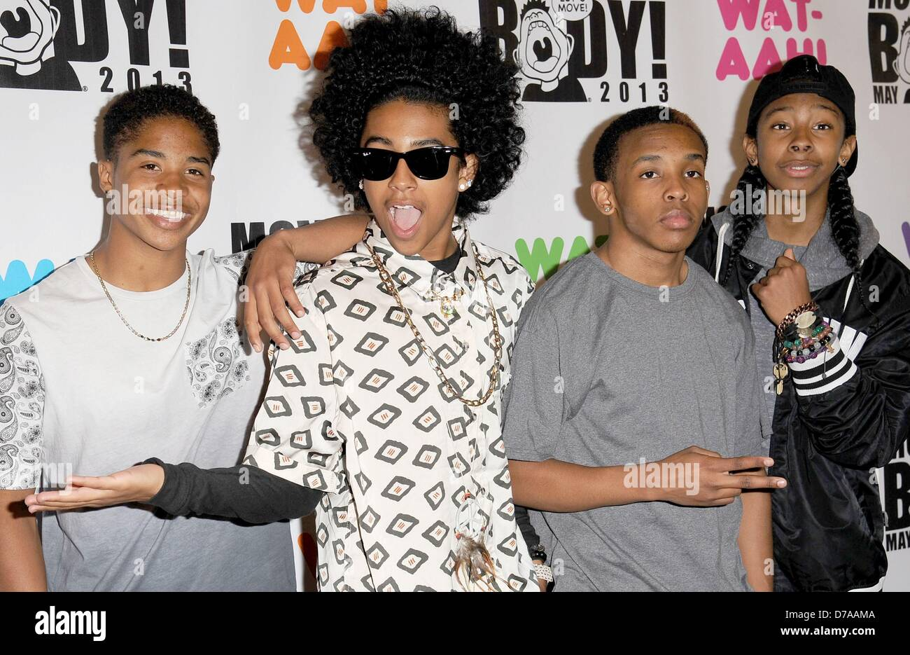 New York Usa 1st May 2013 Princeton Ray Ray Prodigy Roc Royal