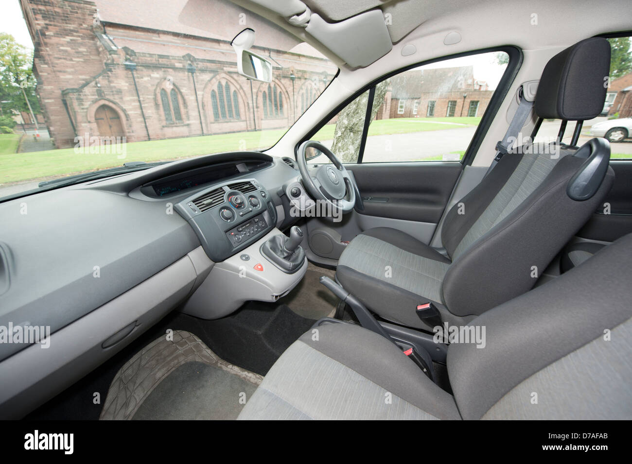 Inside Interior of Renault Scenic Car Stock Photo: 56165267 - Alamy