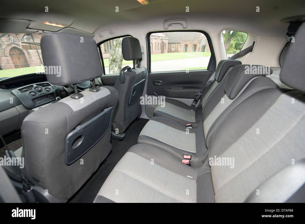 Inside Interior Renault Scenic Car Stock Photos & Inside Interior ...