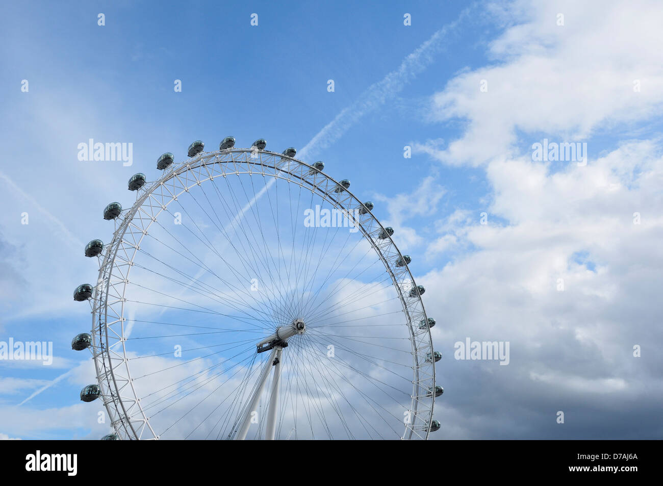 London Eye England Stock Photo
