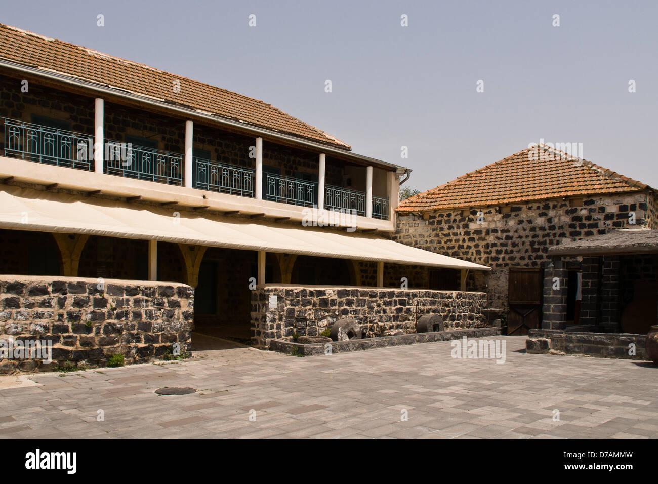 Rechaniya, Israel. 2nd May 2013. The Circassian Heritage Center in Kfar Kama offers a display of traditional Circassian - Stock Image