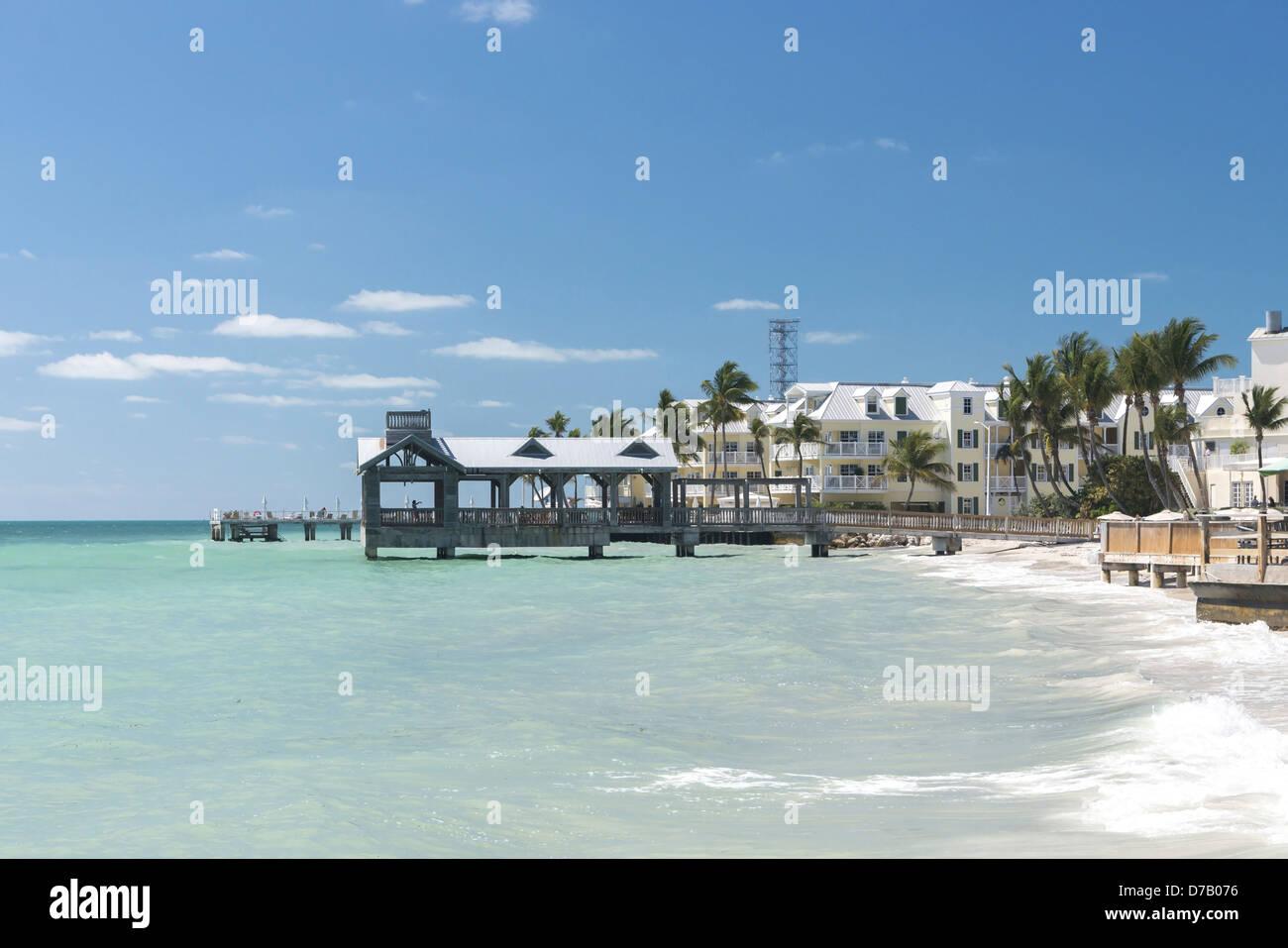 South Beach, Key West, Florida, USA - Stock Image