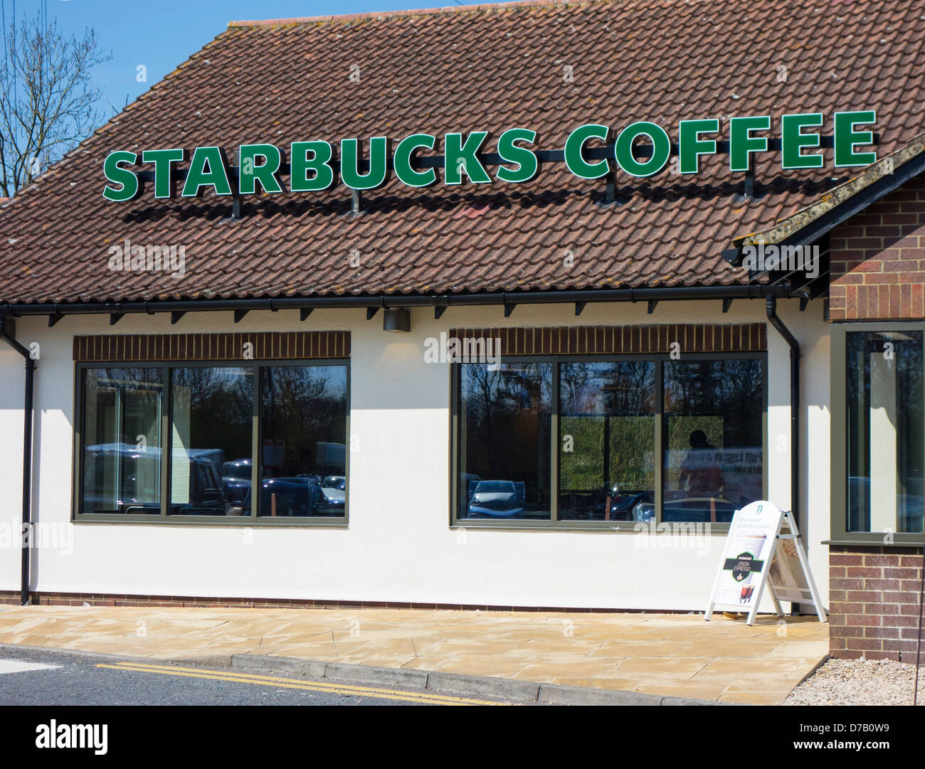 Starbucks Coffee outlet - Stock Image