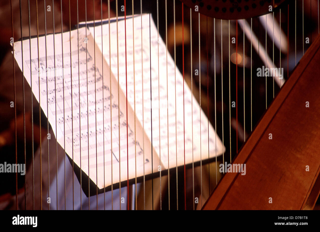 Musical notes - Stock Image