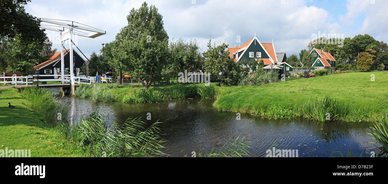 The Netherlands, Noordholland, Marken - Stock Image